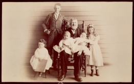 1889=06-29 - Colonel John Kean and Grandchildren